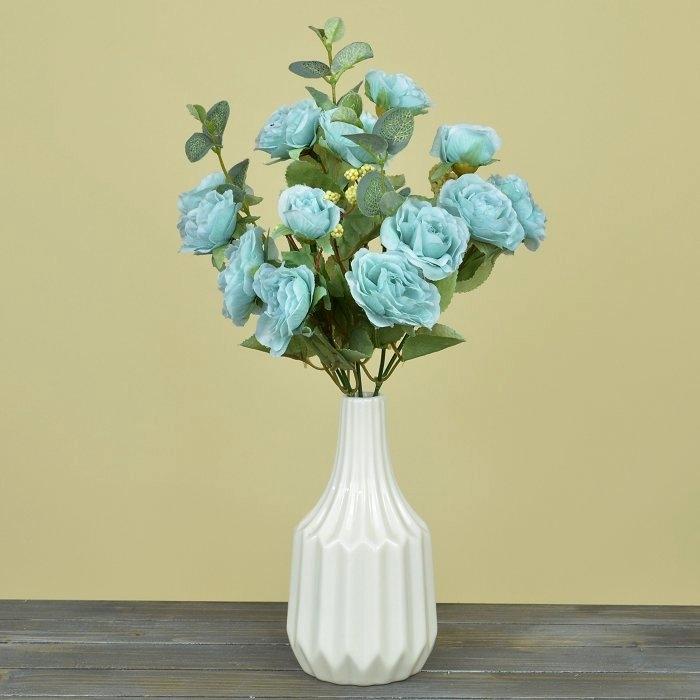 Букет роза Клементина - голубая