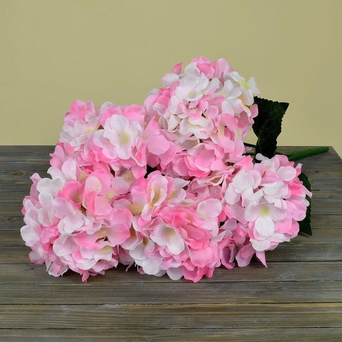 Букет гортензия розовая