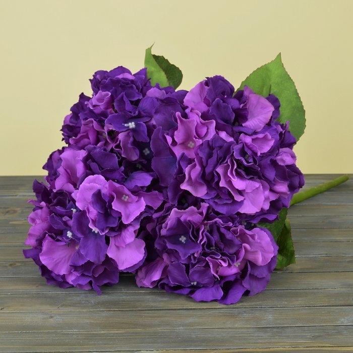 Букет гортензия фиолетовая