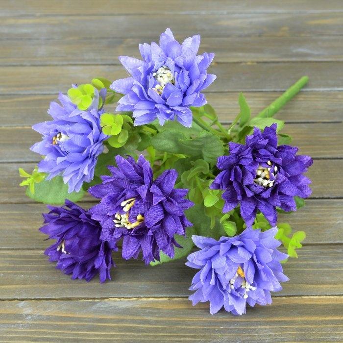 Букетик хризантемки фиолетовые