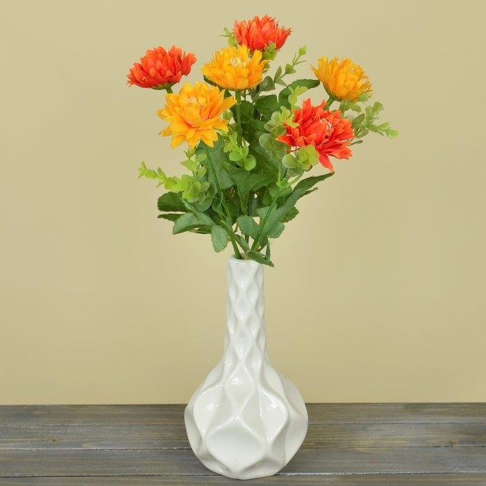 Букетик хризантемки оранжевые